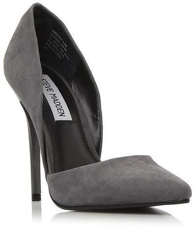 Womens grey court shoe from Dune - £69 at ClothingByColour.com