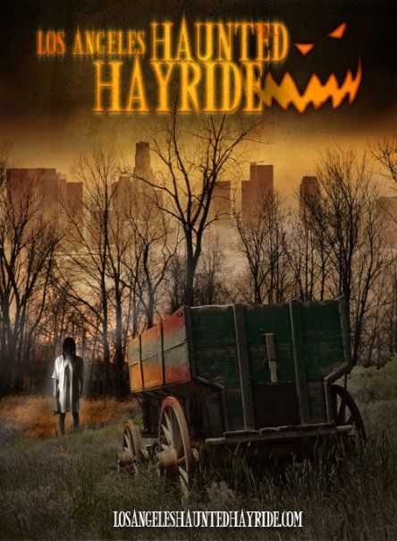FRIGHT FEST! ATTRACTION! Los Angeles Haunted Hayride - Griffith Park, CA | Hollywoodland Amusement And Trailer Park