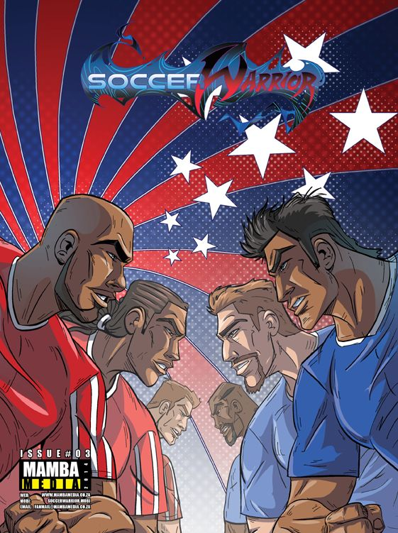 Soccer Warrior March 2014 cover