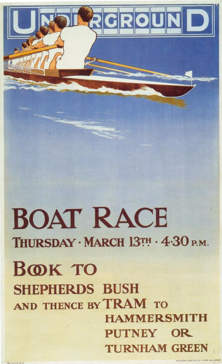 The Boat Race by Underground.