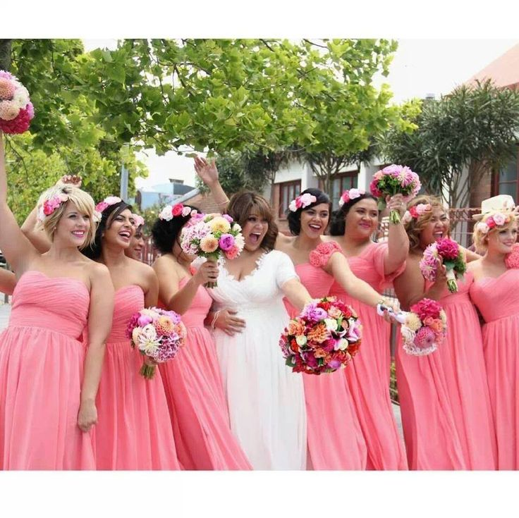 Wedding -  Bride - Groom -  Bridesmaids -  Wedding Line -  Wedding Party -  Peach theme - Samoan/Chilean Wedding - Auckland - New Zealand Wedding - Summer Wedding