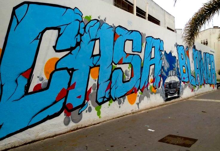Casablanca city...