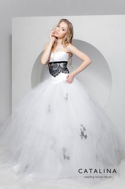 CATALINA wedding fashion hose Dress PIONIA www.catalina-wedding.ru