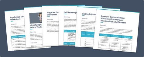 Here are 18 printable self-esteem worksheets (PDF), activities and exercises for kids, teens and adults on building self esteem and self worth. Enjoy!