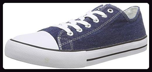 Tamaris 23649, Damen Sneakers, Blau (DENIM 802), 39 EU - Sneakers für frauen (*Partner-Link)