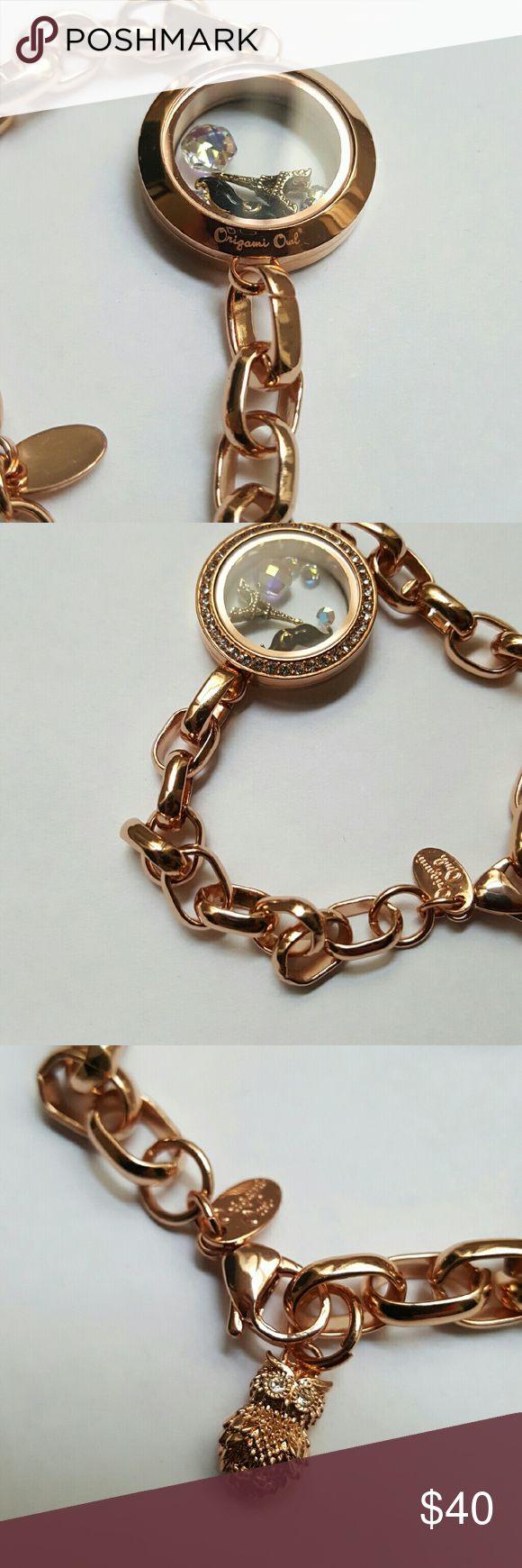 Authentic Origami Owl living locket bracelet .. Jewelry Bracelets