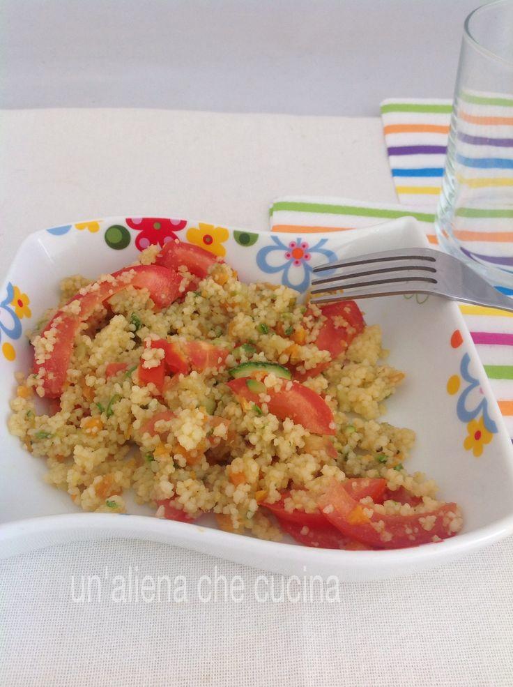 cous cous salad, ricetta light