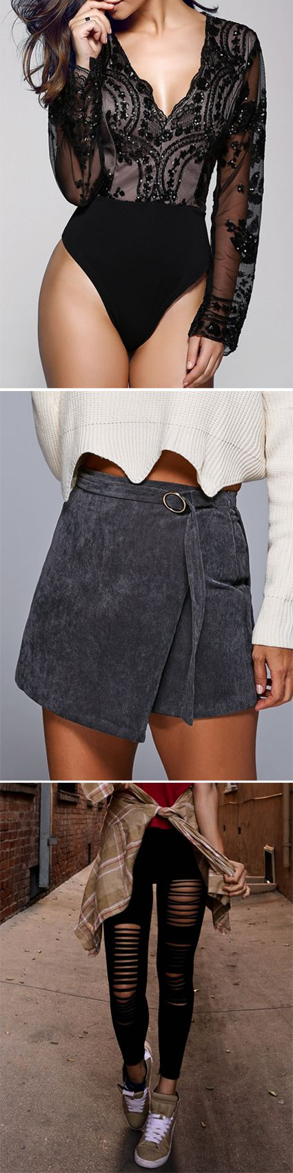 Bottoms in Zaful | Jumpsuits & Rompers, Skirts,Leggings,Pants,Shorts,Jeans | #Bottoms