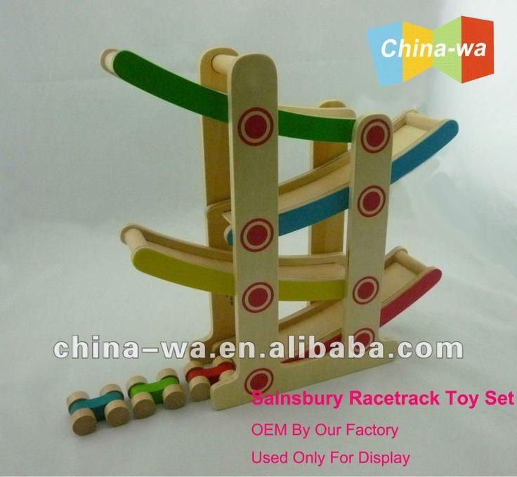 2014 qualidade superior de madeira pista de deslizamento e de corrida de carros de brinquedo para crianças conjunto-Brinquedos de colocar moedas-ID do produto:642306896-portuguese.alibaba.com