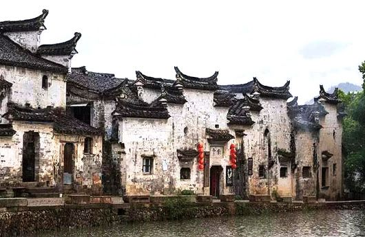 traditional chinese village houses with high firewalls in the rh pinterest com