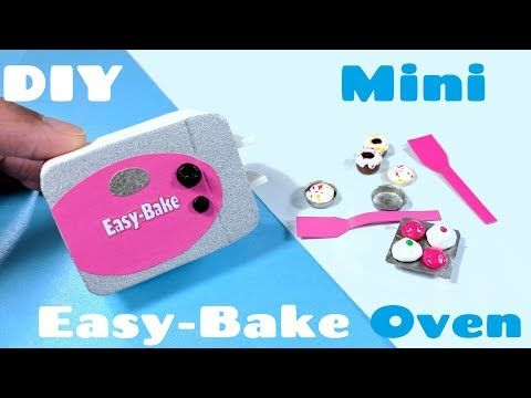 DIY Miniature Easy Bake Oven & Accessories - YouTube