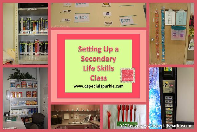 life skills Classroom Set Up | ... setting up a middle school life skills functional skills class i