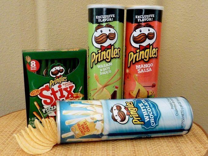 """アメリカの国民的お菓子「プリングルズ」。Love american confectionery """"Pringles""""!"""