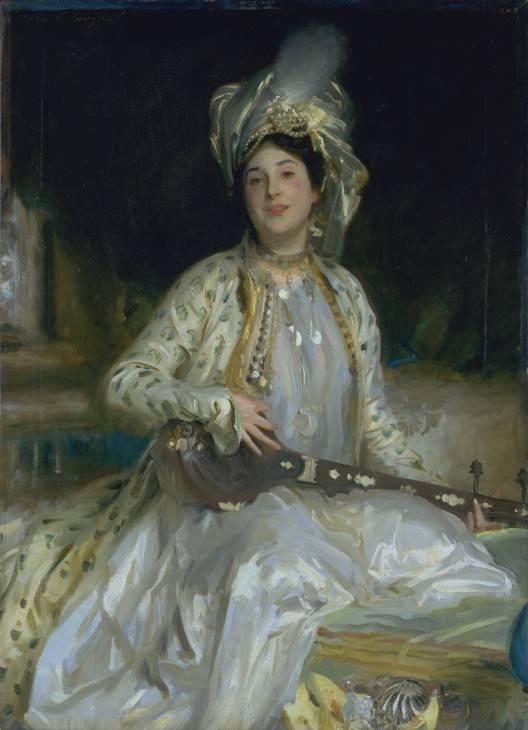 Almina, Daughter of Asher Wertheimer by John Singer Sargent, 1908