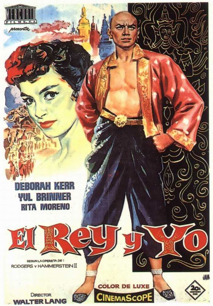 EL REY Y YO - The King and I - 1956