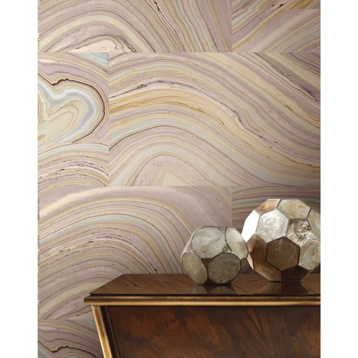 "Candice Olson Nature Onyx 27' L x 27"" W Wallpaper Roll ..."