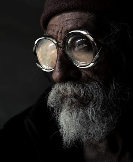 I really want to try a portrait of an old man. I also love the slight monochromatic aspect of this, of course.