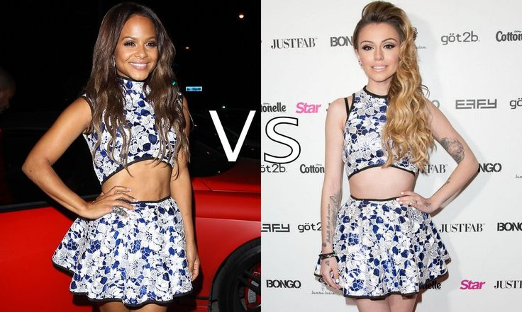 Christina Milian vs Cher Lloyd