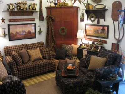 Decorating With Country Primitives