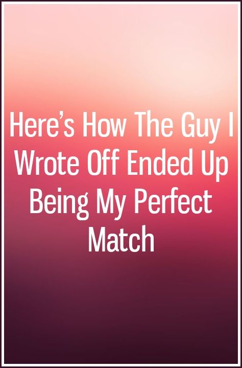 my perfect match dating