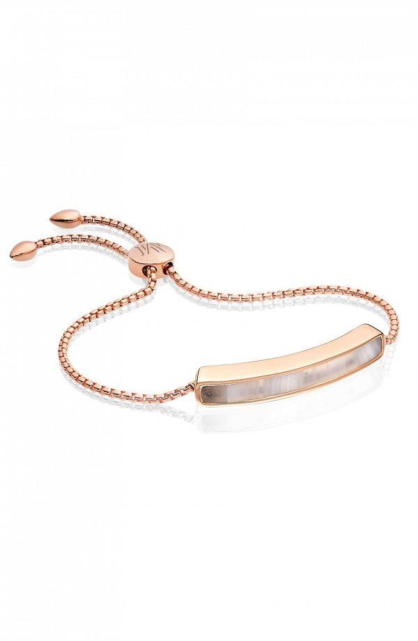 Bridesmaid Gift Jewelry #ad - Semi Precious Stone Rose Gold Bracelet