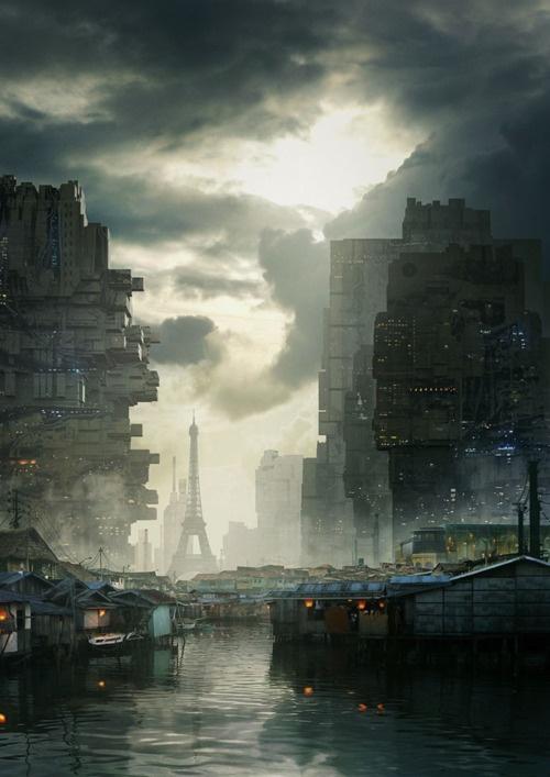 Dystopian Paris- for Scarlett.