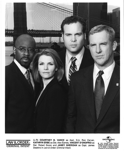 Law & Order: Criminal Intent - Courtney B. Vance, Kathryn Erbe, Vincent D'Onofrio, & Jamey Sheridan
