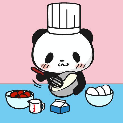 パティシエの日 LINEスタンプで大人気!毎日更新「今日のお買いものパンダ」を見逃すな!今まで明かされなかったお買いものパンダの生態も少しだけ公開!