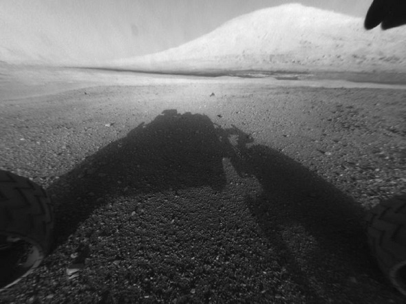 "The first pictures from mars rover ""Curiosity"".  The most modern machine that has ever been built was sent to Mars. It is equipped with the most modern scientific instruments to study the red planet and prove the existence of rivers there. Mars rover ""Curiosity"" successfully has come to Mars and the first pictures have already appeared."