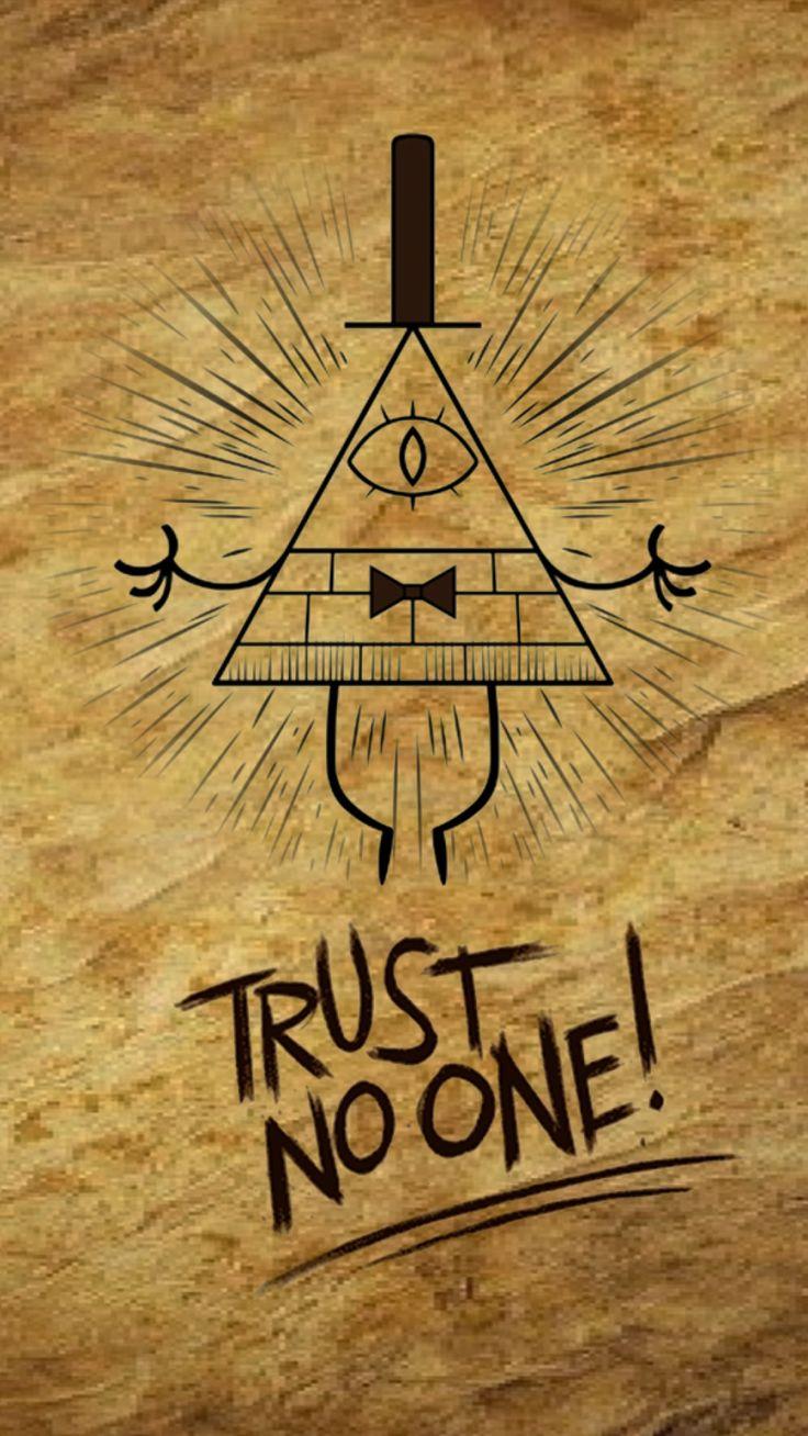 Gravity Falls Trust No One Wallpaper Best 25 Gravity Falls Bill Ideas On Pinterest Gravity