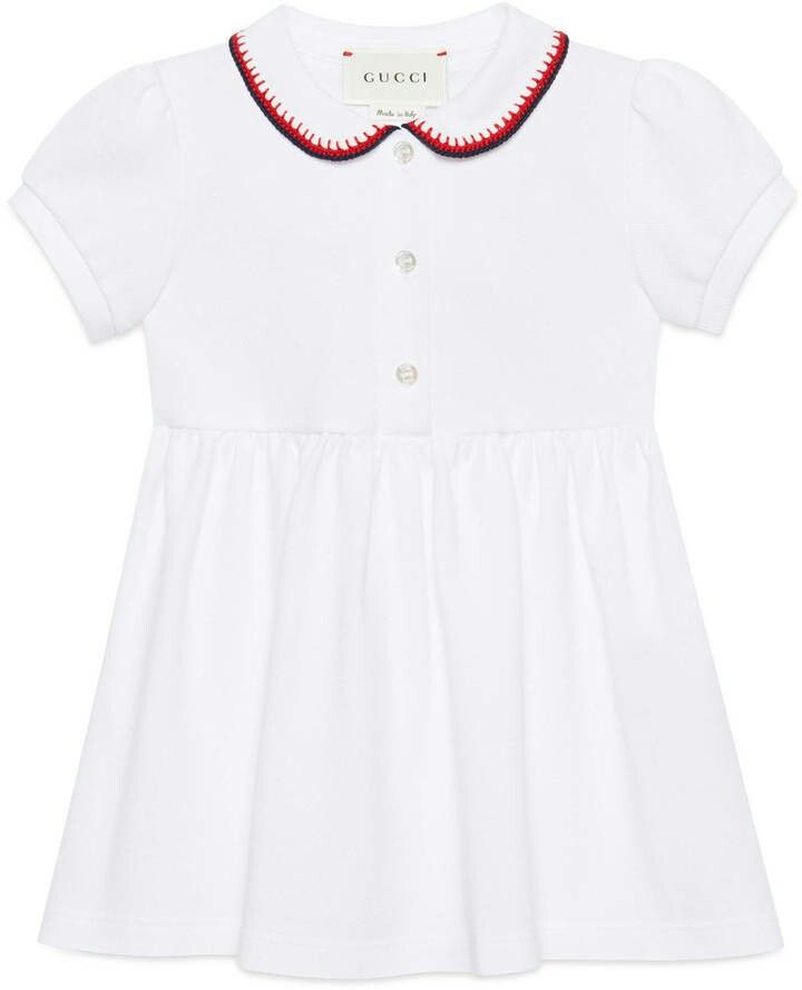 White stretch cotton