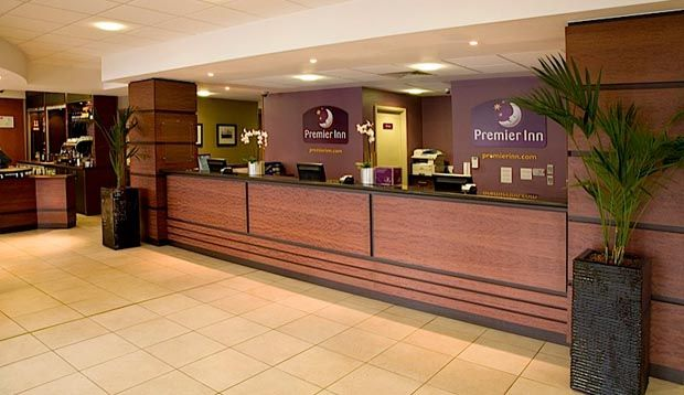 Reception at Premier Inn London City (Tower Hill)