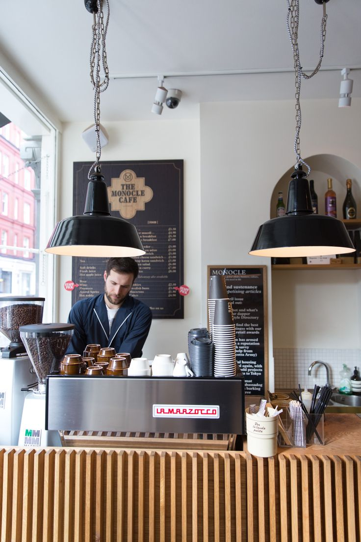 Monocle Cafe // London // via 70percentpure.be