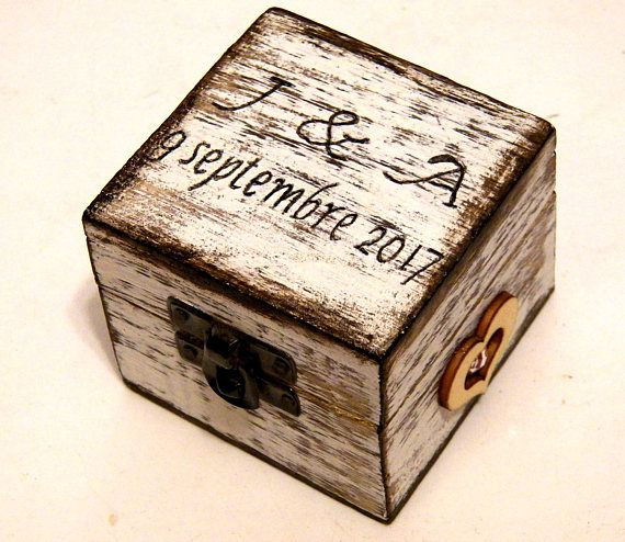 Sea Ring Box Wedding Gifts for Couple Personalized Ring Box
