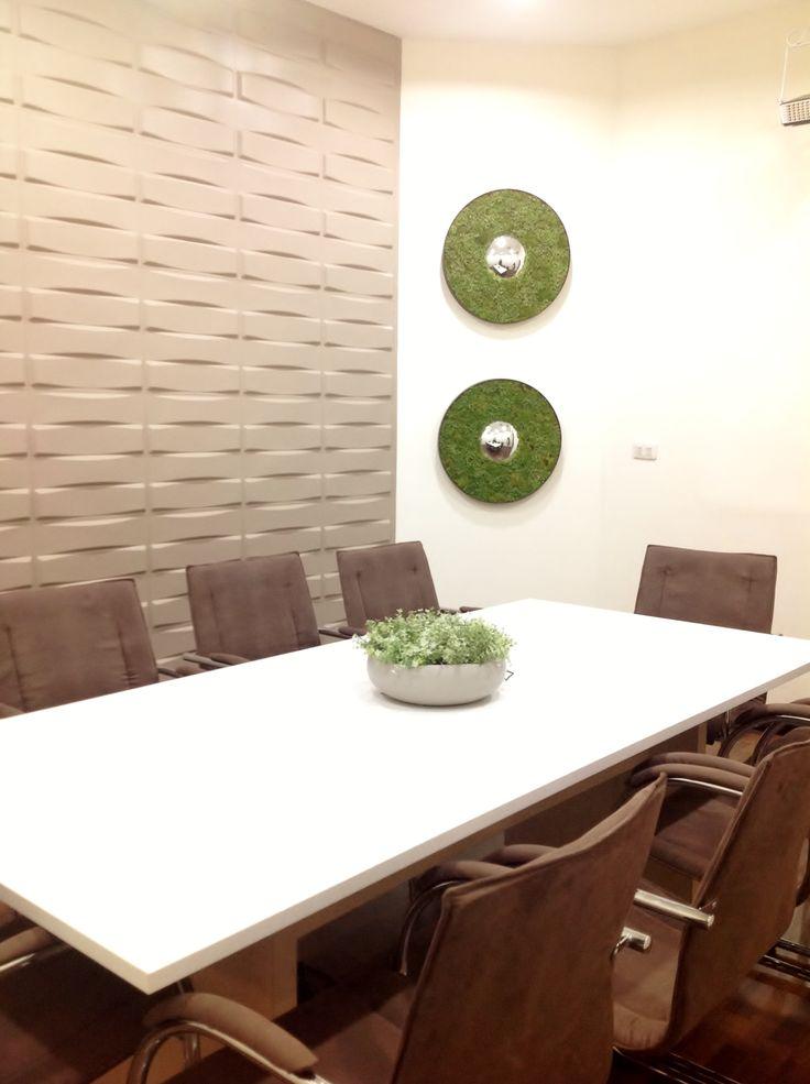 Sala de sesiones tikal futura oficinas modernas for Pinterest oficinas modernas