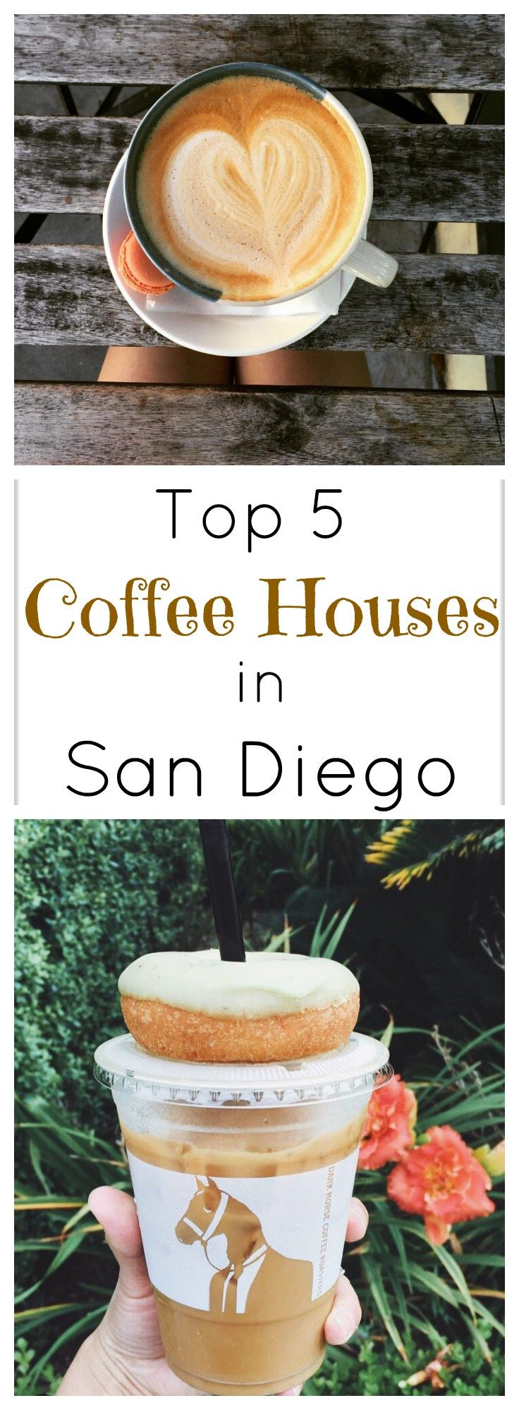 The top 5 coffee houses you must visit in San Diego 《dark horse or bird rock to try》
