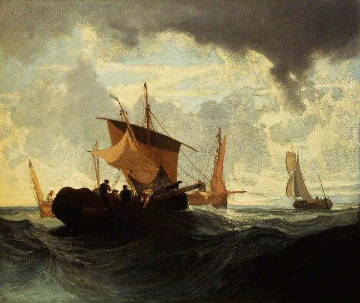 1820s  After a Storm    oil on canvas