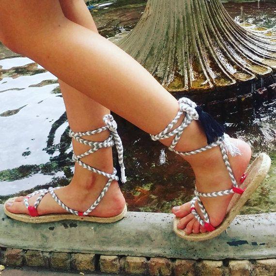 Sandalias esparto, sandalias plataforma, sandalias trenzadas, sandalias boho, estilo bohochic