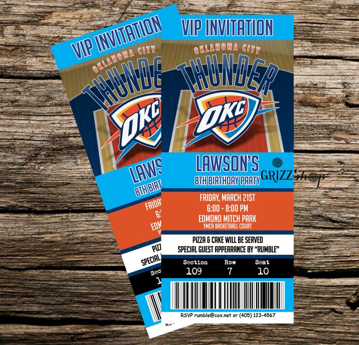 Image result for thunder tickets pictures