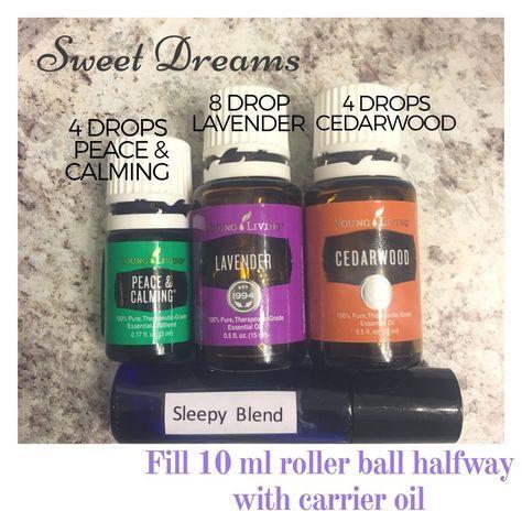 Sleepy time roller ball blend