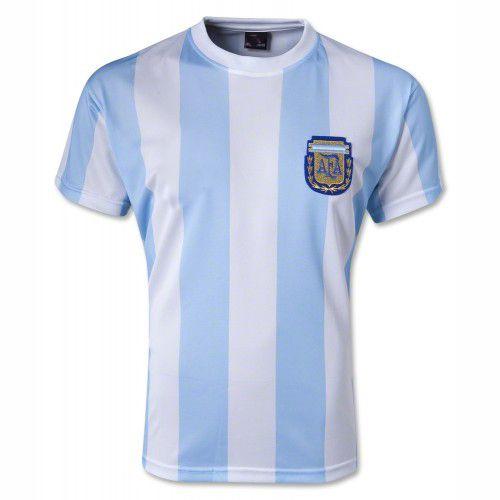 1986 Argentina Soccer Team Retro Home Replica Jersey 1986 Argentina Soccer Team Retro Home Soccer Jersey|cheap soccer jerseys