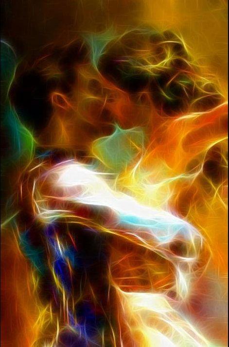 Acabei de sonhar com você e essa figura descreve perfeitamente o que aconteceu... você me envolvendo em seus braços com total poder sobre meu corpo,ainda sou capaz de sentir seu abraço fazendo meu sangue correr mais rápido no meu corpo❤❤
