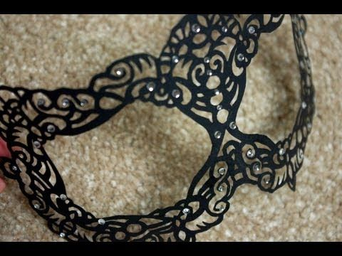 masquerade masks how to make them
