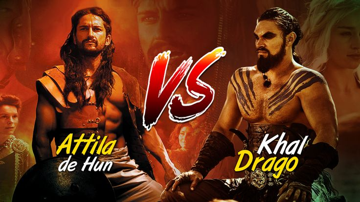 "Comparative essay example: ""Khal Drogo and Attila the Hun"""