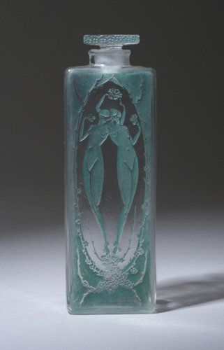 "R. LALIQUE ""Lepage"" perfume bottle, circ 1920"