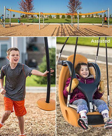 ZipKrooz has landed! Get the world's best inclusive zip line for #playgrounds & welcome kids of all abilities! #InclusivePlay