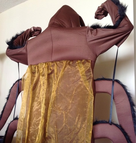 Used Giant Cockroach Adult Costume Halloween Scary Funny for Phish Ticket Nye | eBay