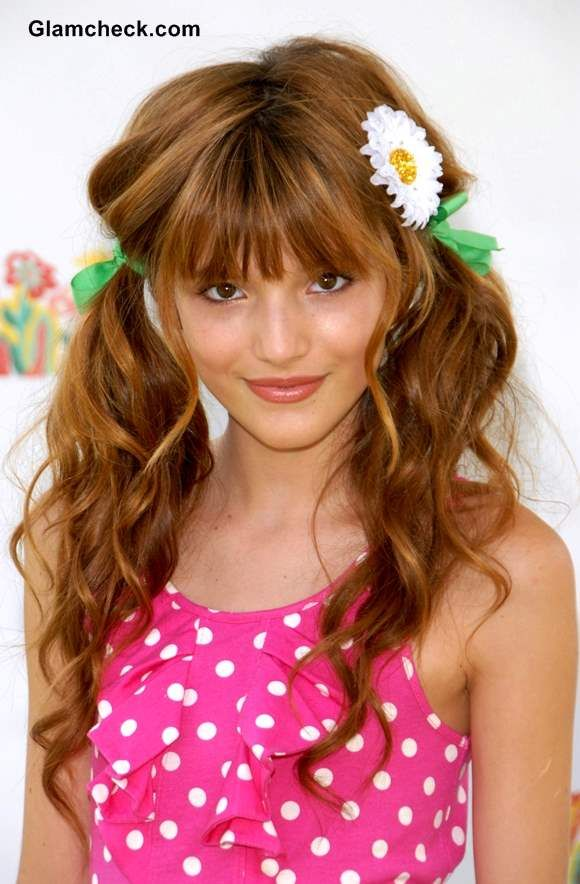 Cute Hairstyles For Little Girls Bella Thorne Inspired