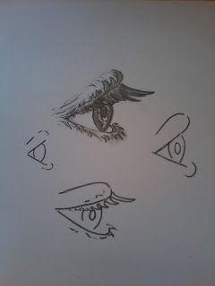 Academia do cérebro  ( artes  ): Desenhe um olho de perfil de maneira fácil!