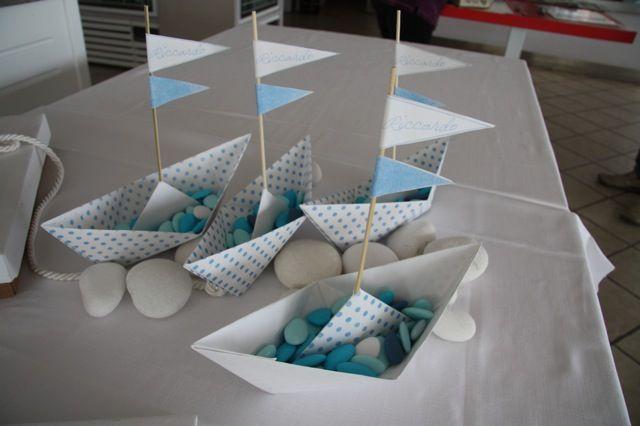 Gli eventi di Claudia confetti & co - barchette di cartoncino........le riempiamo di confetti???